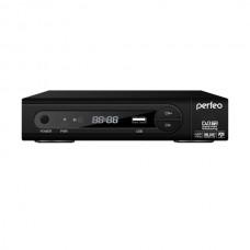 Приемник цифрового телевидения PERFEO PF-168-1 DVB-T2-РЕСИВЕР с функцией HD-медиаплеера