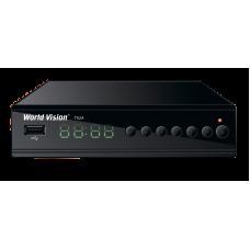 Приемник цифрового телевидения DVB-T2/C World Vision T62А (металл)+YouTube+dolby